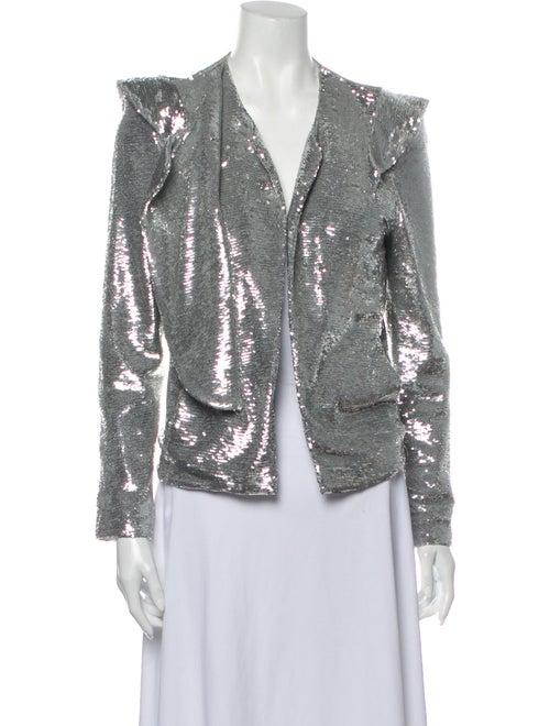 Iro Evening Jacket Silver