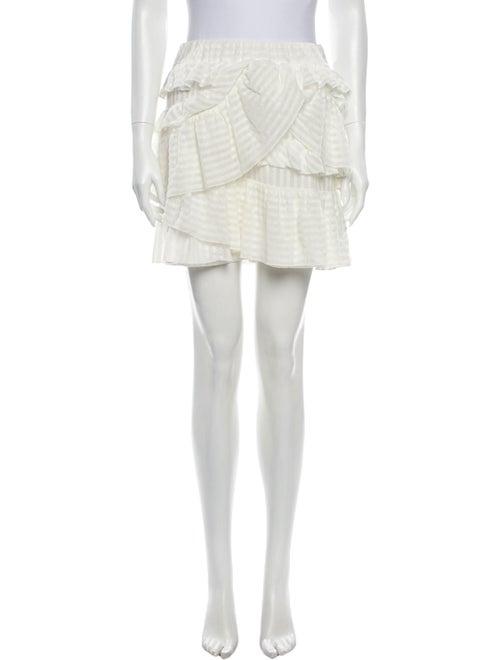 Iro Ruffle Embellishment Mini Skirt