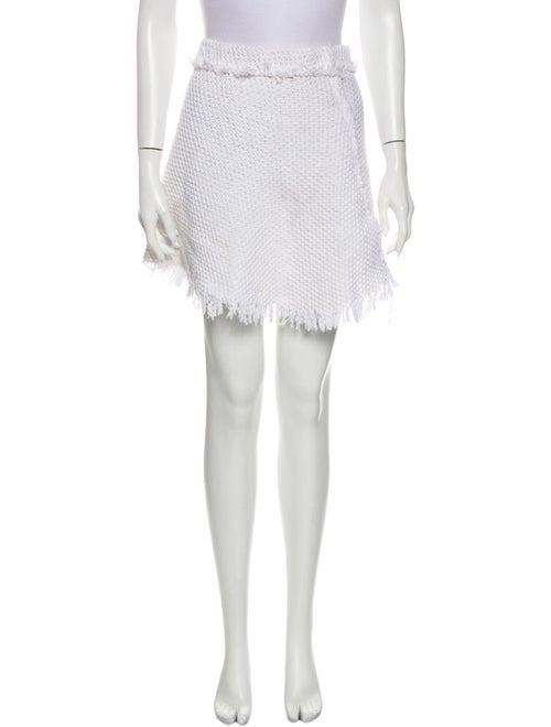 Iro Tweed Pattern Mini Skirt