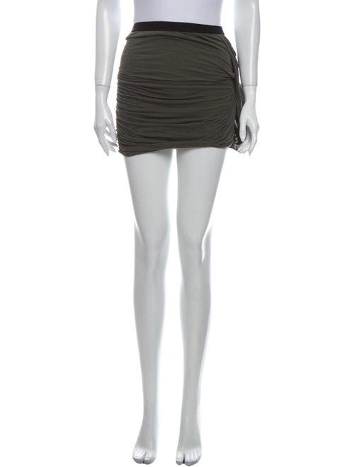Iro Mini Skirt Green