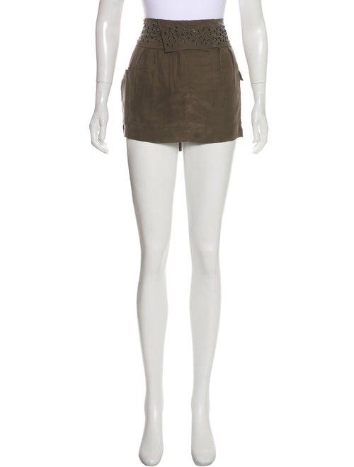 Iro Silk Mini Skirt