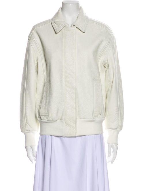 Iro Lamb Leather Jacket White