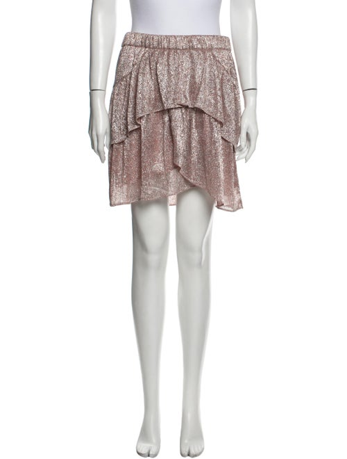 Iro 2019 Mini Skirt Metallic