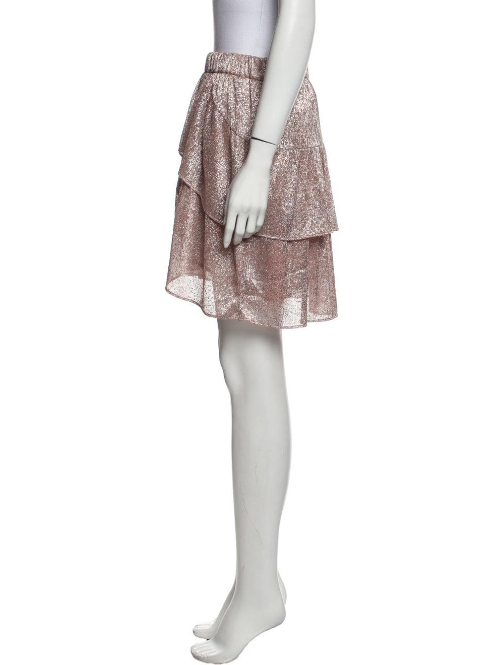 Iro 2019 Mini Skirt Metallic - image 2