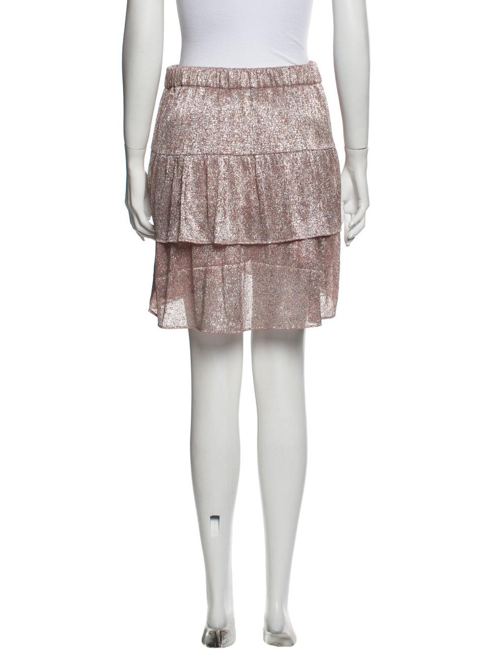 Iro 2019 Mini Skirt Metallic - image 3