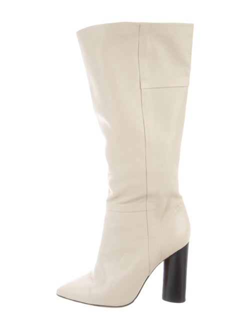 Iro Leather Boots White