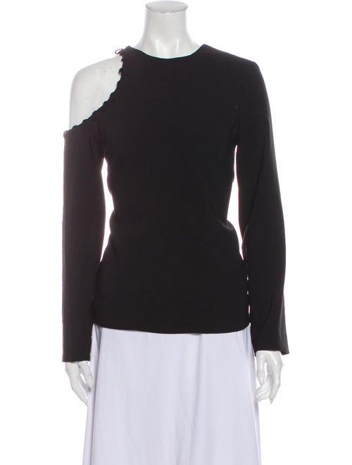 Iro Crew Neck Long Sleeve Sweatshirt Black