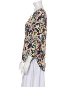 Iro 2019 Floral Print Blouse w/ Tags