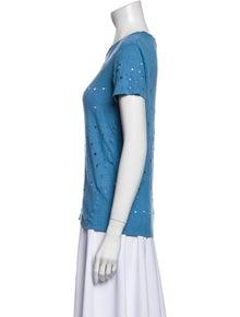 Iro Linen Crew Neck T-Shirt