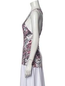 Iro Linen Printed Top