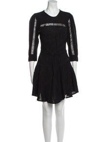 Iro Silk Mini Dress w/ Tags