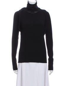Iro Turtleneck Long Sleeve Sweatshirt