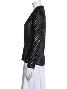 Iro V-Neck Long Sleeve Top