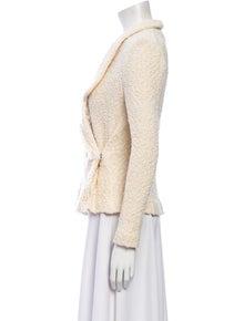 Iro Tweed Pattern Blazer