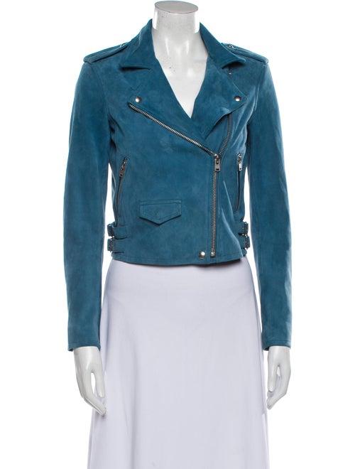 Iro Biker Jacket Blue - image 1