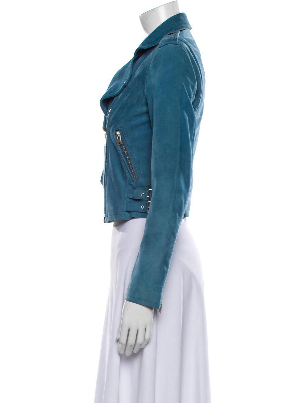 Iro Biker Jacket Blue - image 2