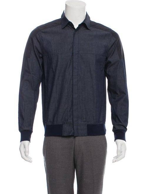 Isaora Chambray Shirt Jacket blue