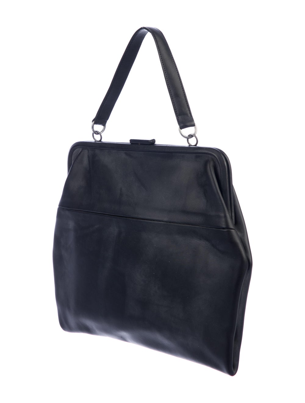 Isaac Reina Leather Radical Satchel Black - image 3