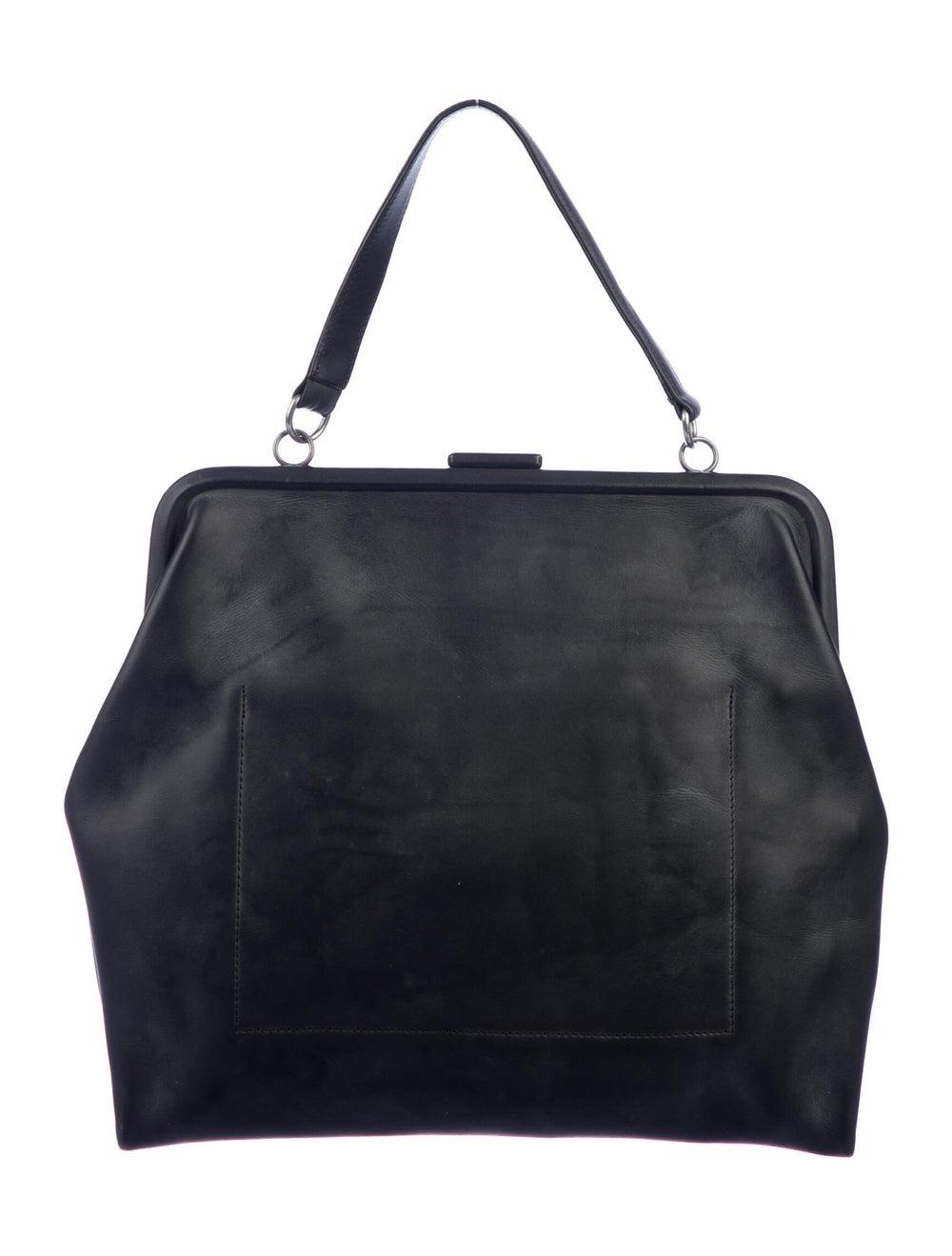 Isaac Reina Leather Radical Satchel Black - image 4