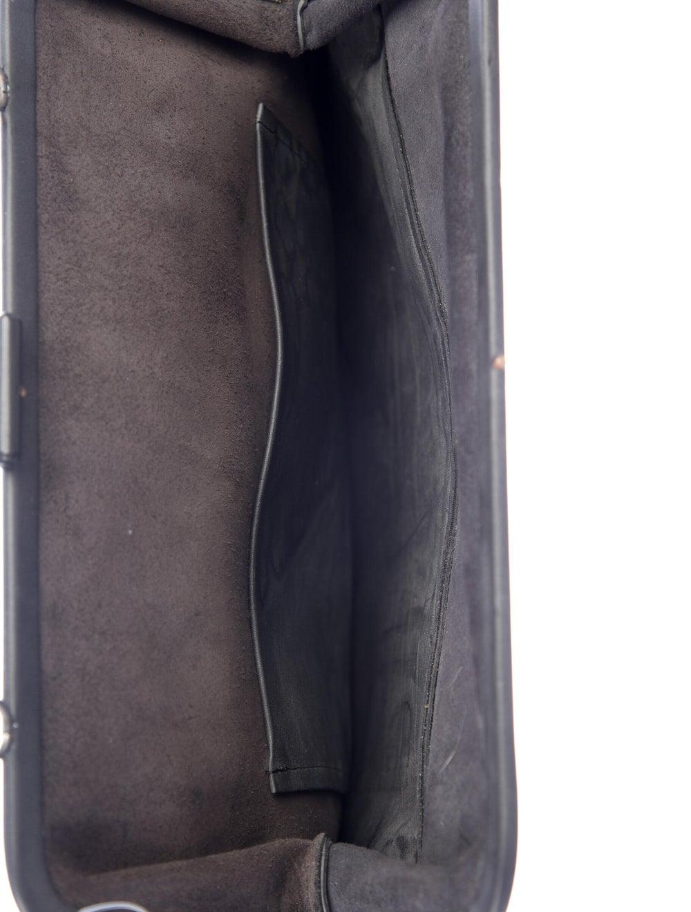 Isaac Reina Leather Radical Satchel Black - image 5