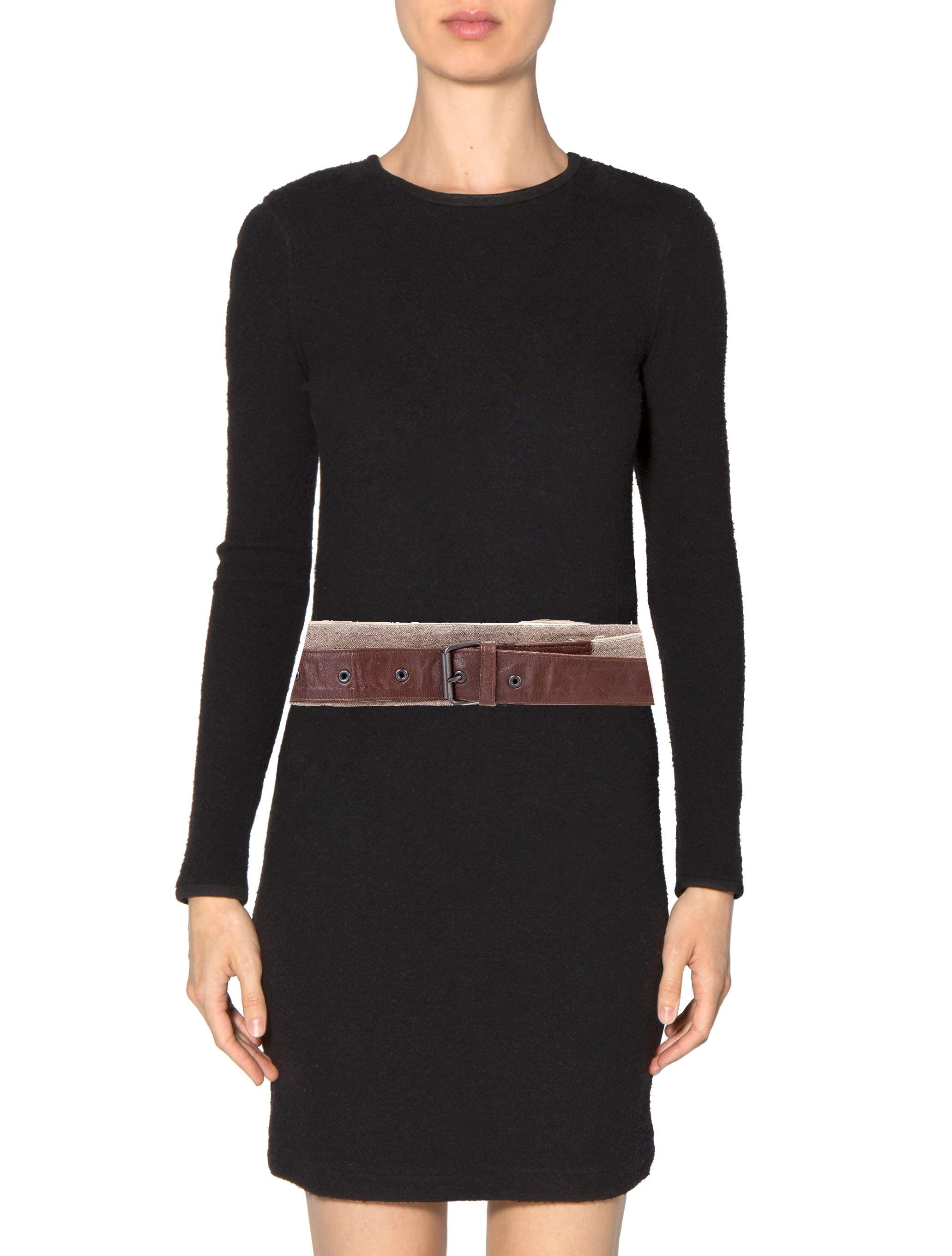 ivan grundahl leather wrap around belt accessories