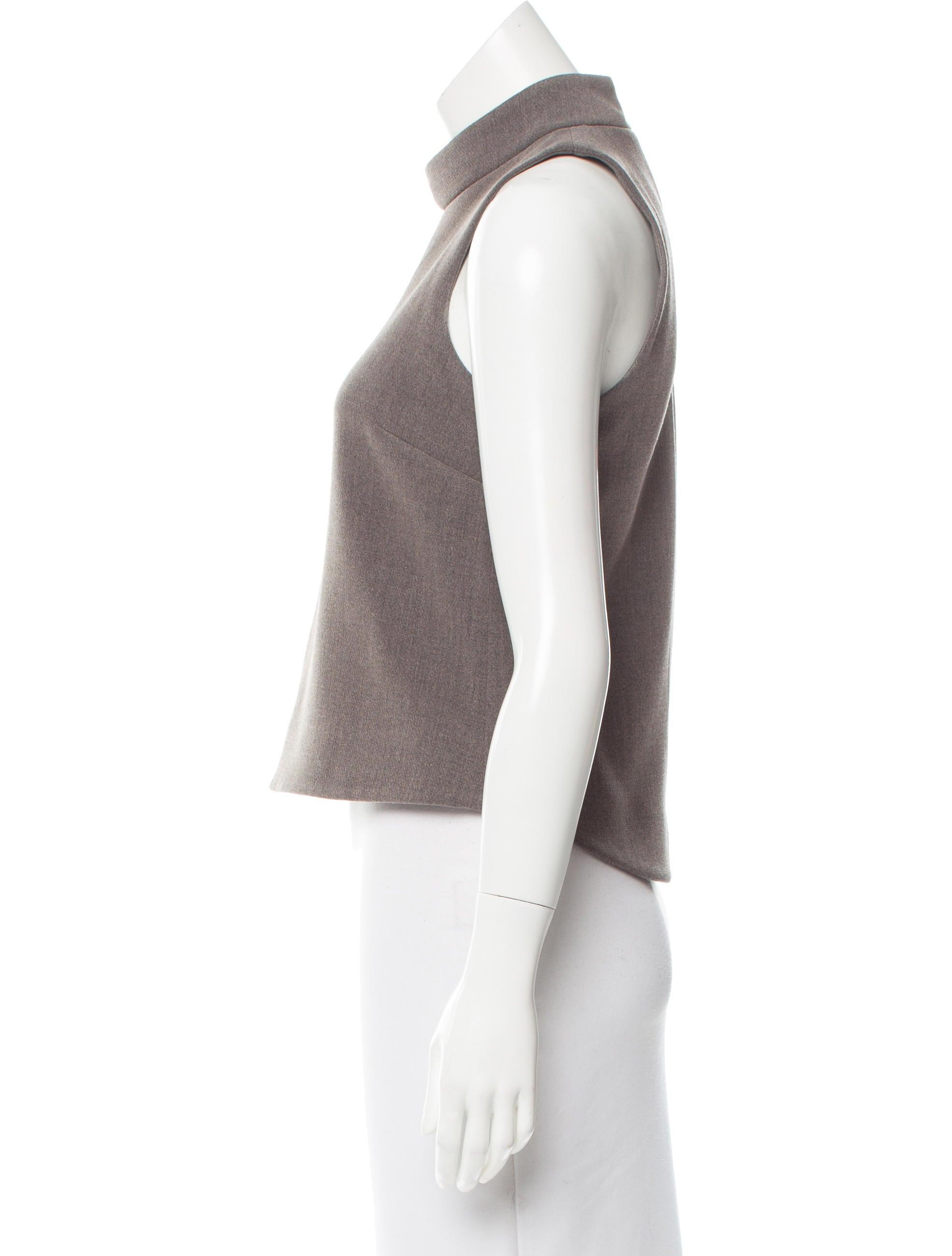 Intermix Sleeveless Mock Neck Top Clothing Wix20178