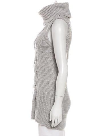 Sleeveless Wool Sweater