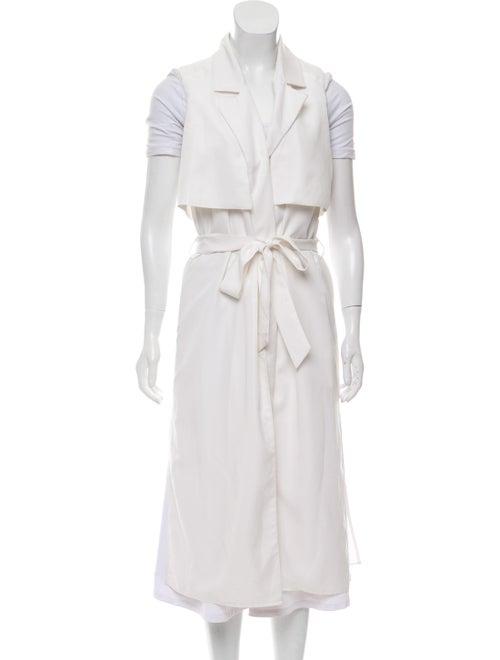 Intermix Sleeveless Knit Vest