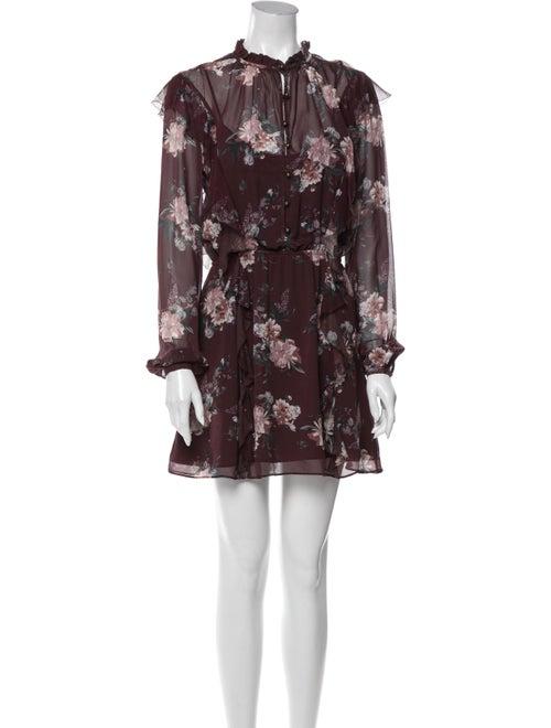 Intermix Silk Mini Dress