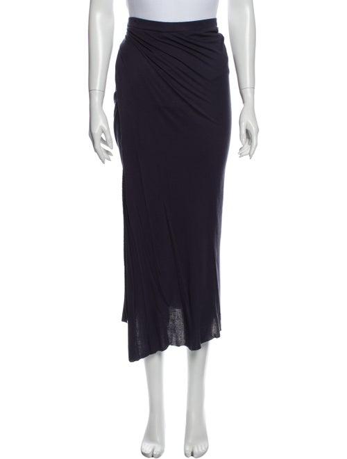 Intermix Midi Length Skirt Blue