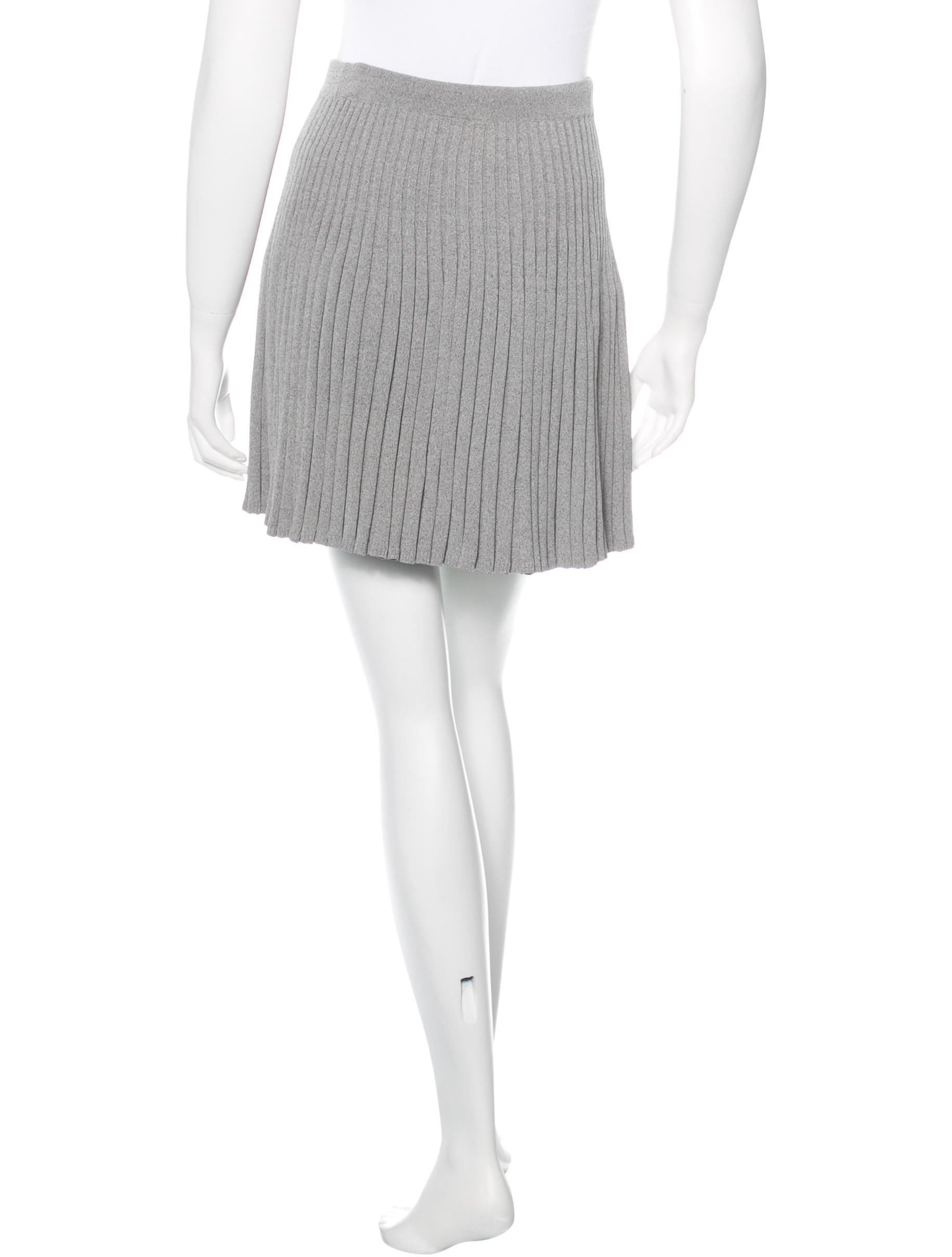 jonathan simkhai pleated flare skirt clothing wj021094