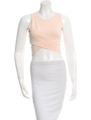 Jonathan Simkhai Cutout Crop Top w/ Tags None
