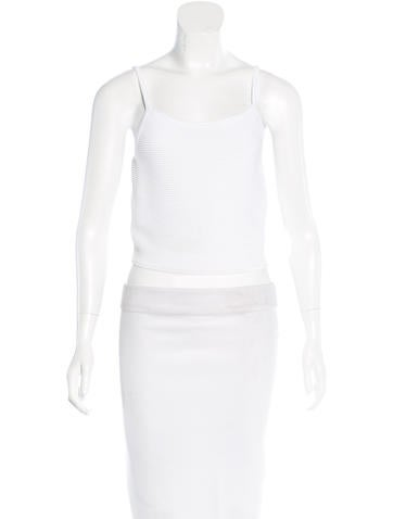 Jonathan Simkhai Sleeveless Cropped Top w/ Tags None