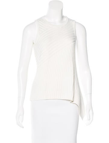 Jonathan Simkhai Rib Knit Asymmetrical Top w/ Tags None