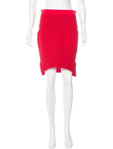 Jonathan Simkhai Patterned Asymmetrical Skirt w/ Tags None