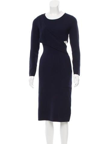 Jonathan Simkhai Cutout Sweater Dress None