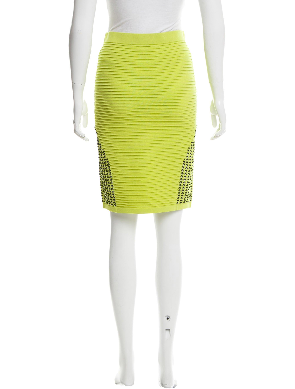 jonathan simkhai knee length bodycon skirt clothing