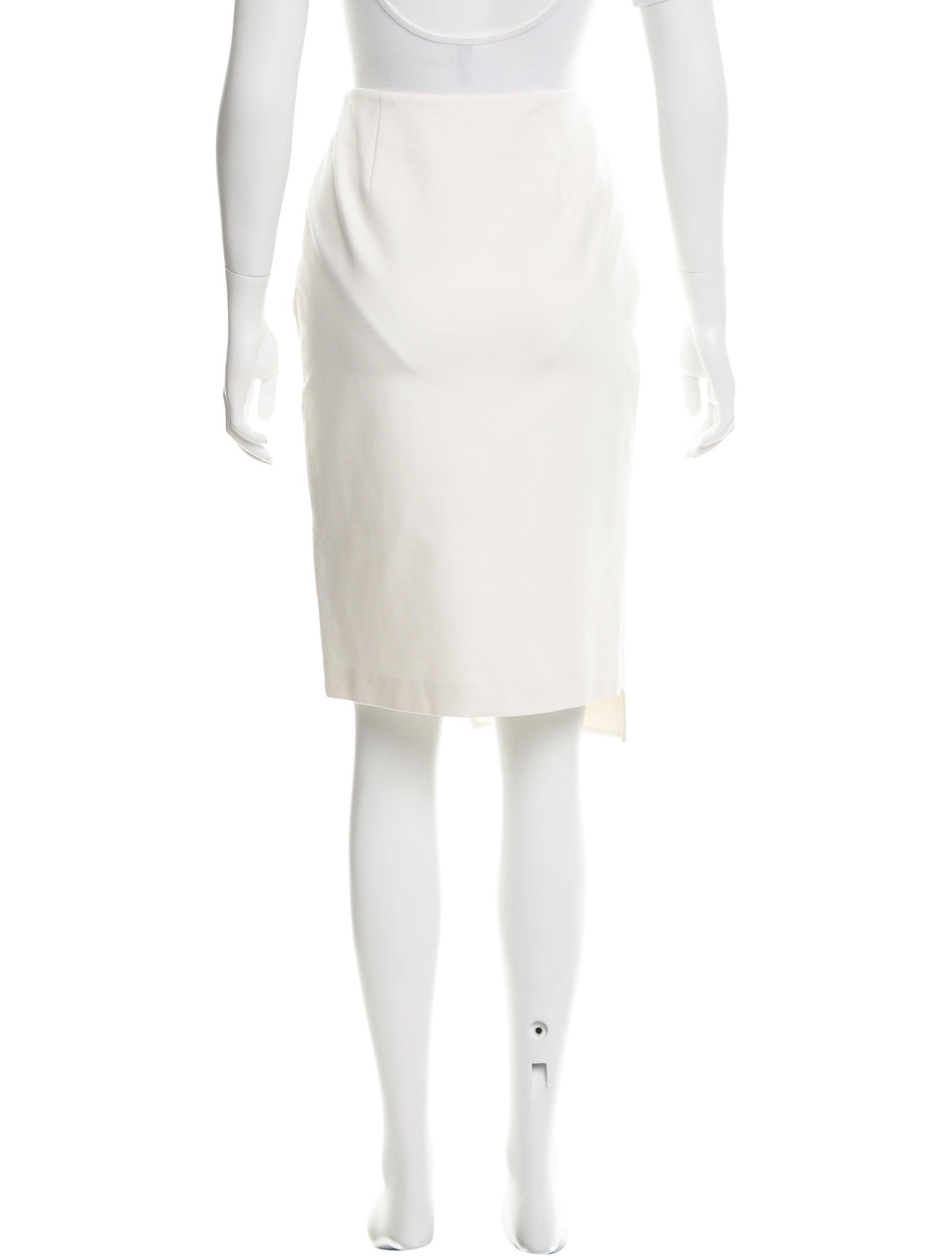 jonathan simkhai knee length pencil skirt clothing