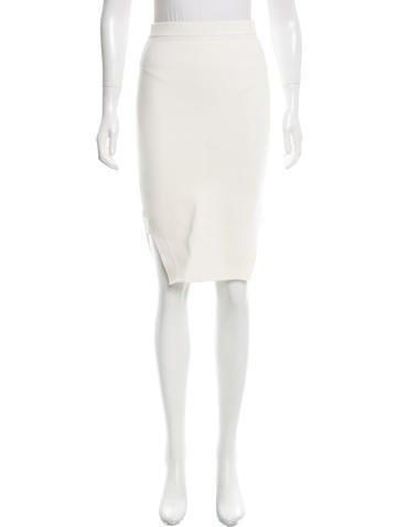Jonathan Simkhai Fine Knit Pencil Skirt w/ Tags None