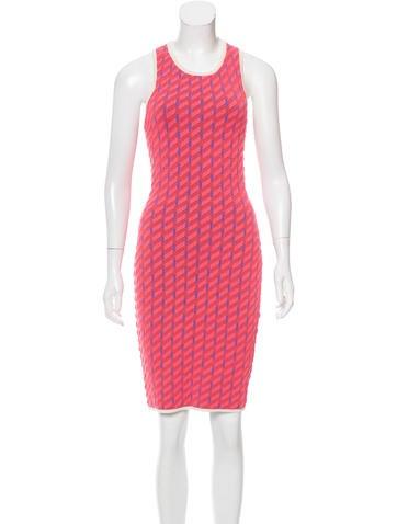 Jonathan Simkhai Patterned Bodycon Dress w/ Tags None