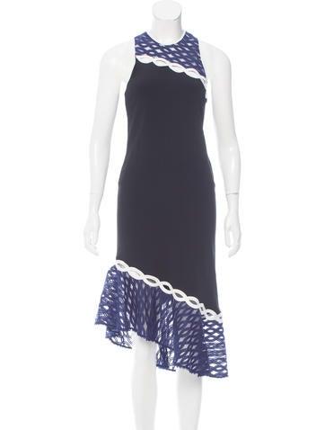 Jonathan Simkhai Asymmetrical Midi Dress w/ Tags None
