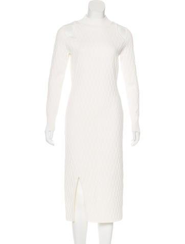 Jonathan Simkhai Long Sleeve Sheath Dress w/ Tags None