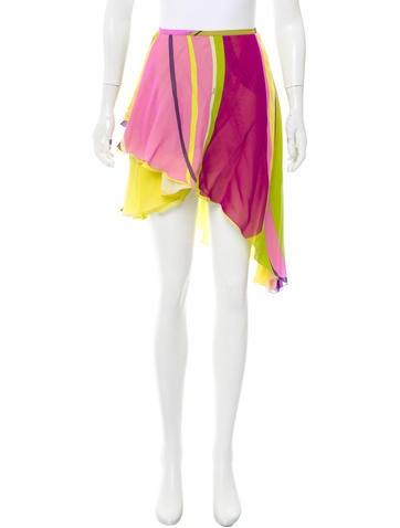 Jonathan Simkhai Rib Knit Knee-Length Skirt w/ Tags None