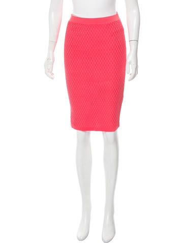 Jonathan Simkhai Hex Fence Pencil Skirt w/ Tags None