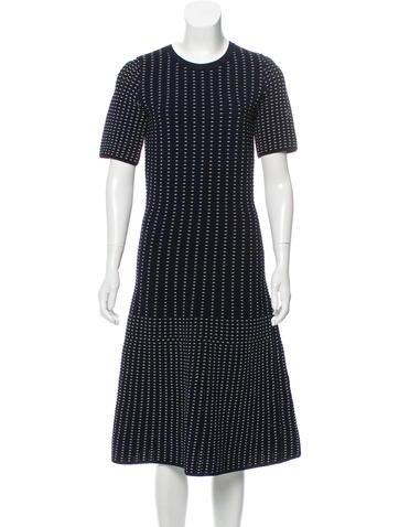 Jonathan Simkhai Striped Mini Dress None