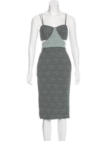 Jonathan Simkhai Cutout Sheath Dress w/ Tags None