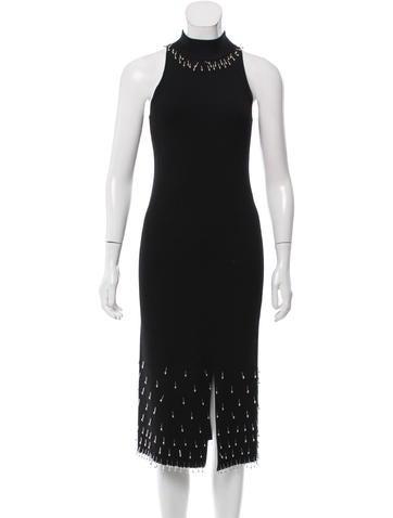 Jonathan Simkhai Embellished Midi Dress None