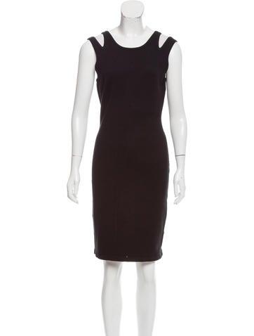 Jonathan Simkhai Knit Cutout-Accented Dress w/ Tags None