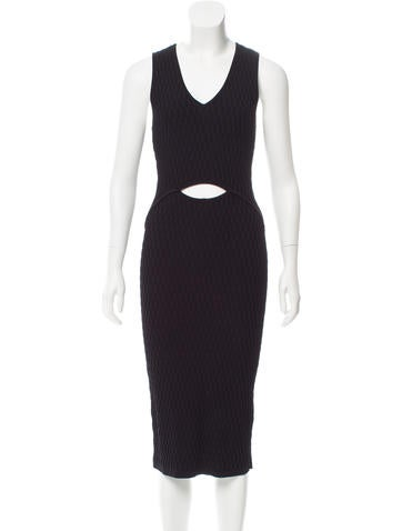 Jonathan Simkhai Sleeveless Midi Dress None