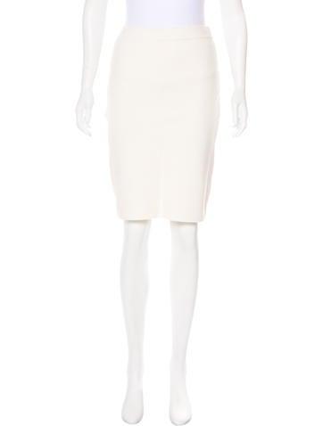 Jonathan Simkhai Knit Bodycon Skirt None